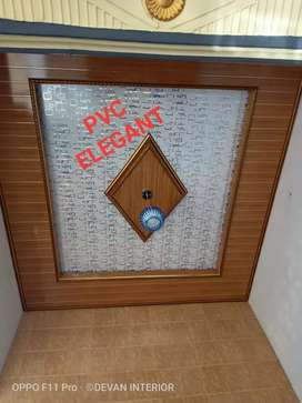 Plafon pvc jual terpasang
