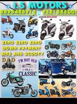 TVS entorq April 125 access special edition down payment zero