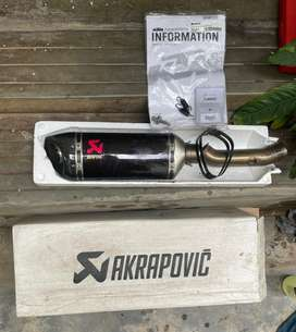 Akrapovic slip-on exhaust for 2017 KTM Duke/RC 390