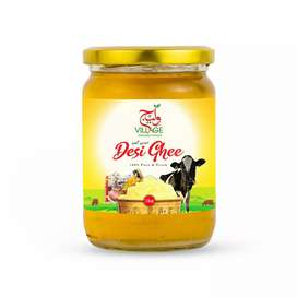 Desi Ghee and Honey from village Organic Foods.