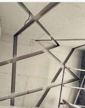 PLAVON GYBSUM PVC PEMBORONG SOLUSI TERBAIK ANTI BOCOR SOLUSI TERBAIK