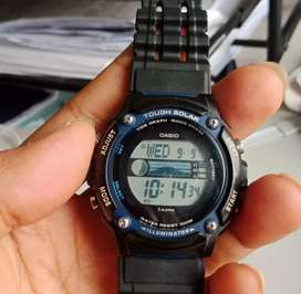 Casio W-S210H Tide Graph & Moon Phase