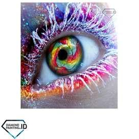 5D DIY Full Drill Diamond Painting Eye 50x40cm