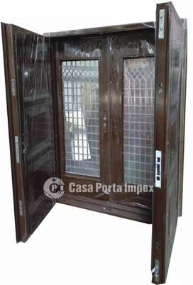 Imported Steel Doors  With Exclusive Wooden Finish