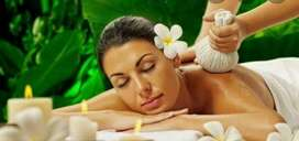 Spa and massage therapist