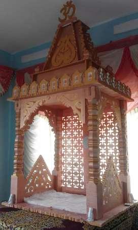 Ganpati decoration set