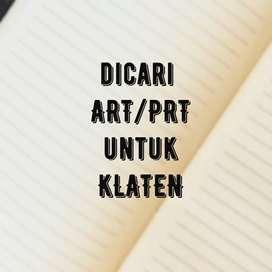 Dicari ART (Asisten Rumah Tangga)