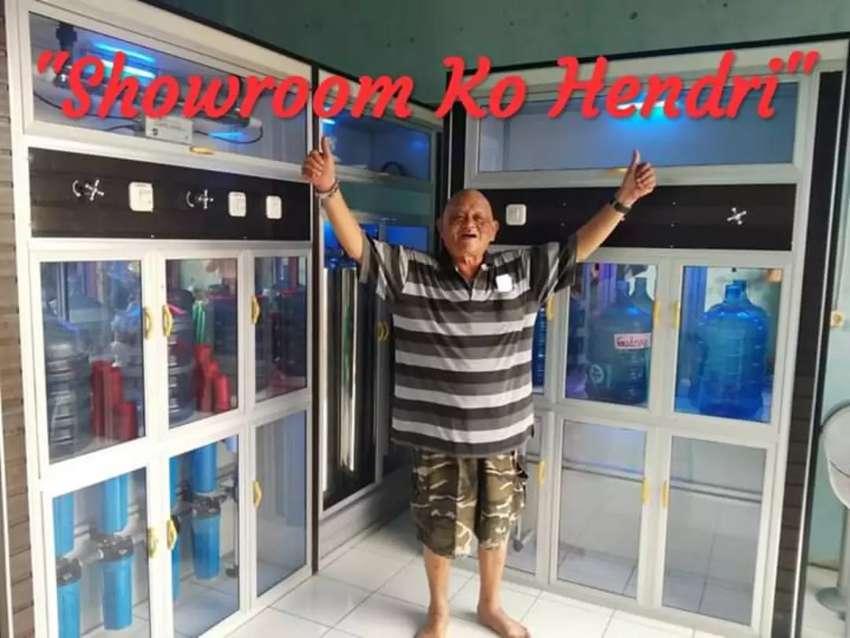 Solusi Usaha Depot air minum isi ulang galon Showroom Ko Hendri 0