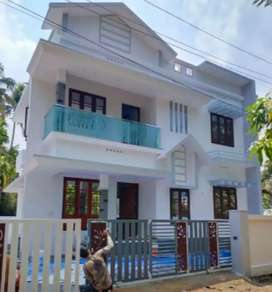 Ready to occupy 3 bhk 1300 sqft house at varapuzha near Kongorpilly