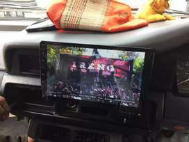 TV Mobil 9inch Android TikTok Youtube TV Peta dll BONUS Kijang Super
