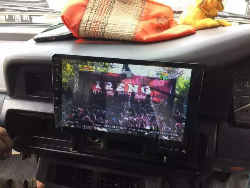 TV Mobil 9inch Android TikTok Youtube TV Peta dll BONUS Kijang Super 0
