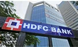 Urgent hiring in hdfc bank in sector 35 noida