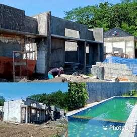 Sudah Dibangun, Rumah Mewah 1 Lantai di Cluster Sampangan