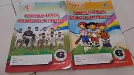 Buku LKS Penjas Orkes SD Kelas 6