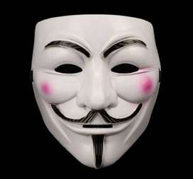 Topeng Anonymous Vendetta cosplay mask