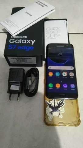 Samsung Galaxy S7 Edge Ram4/128Gb NFC Mulus98% Fulset Resmi Sein Indo