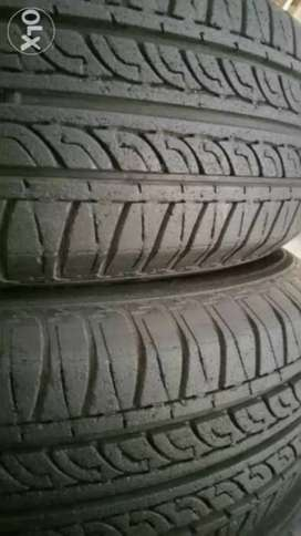 "13"" tyres Pair 165/70/13 like New."