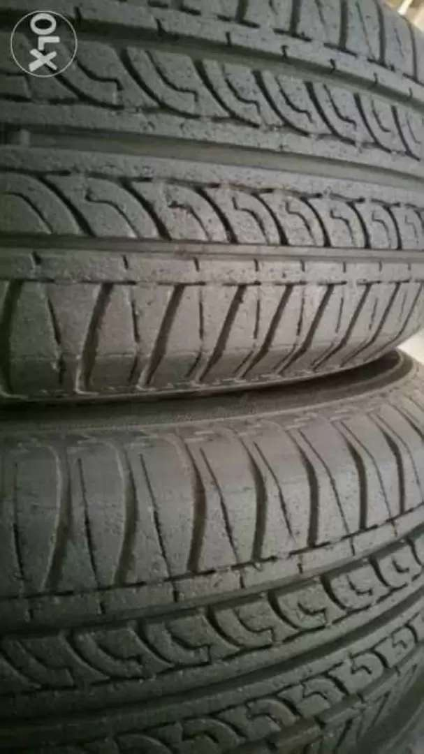 """13"""" tyres Pair 165/70/13 like New. 0"""