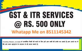 GST AND ITR SERVICES