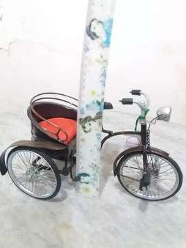 Miniatur Becak Cina Cantik