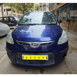 Well Maintained I10 CNG Car with new tyres and batteries