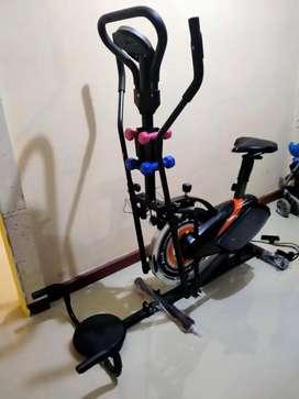 Sepeda statis lima fungsi