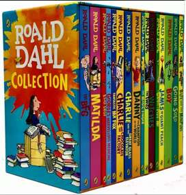 16_NOVELS COLLECTION OF RALD DAHL | BRAND NEW | LIMITED EDITION -STOCK