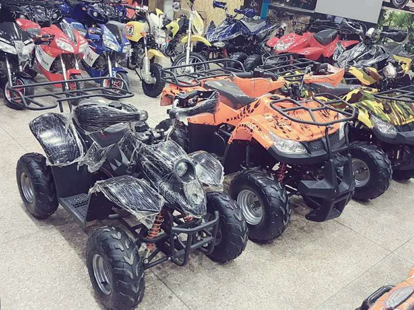2021 full variety atv and sports two wheels quad delivery all Pakistan 0