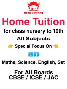 Home tutor for home based tuition in genuine and cheap fee