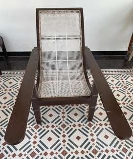 Parsi owned antique easy chair
