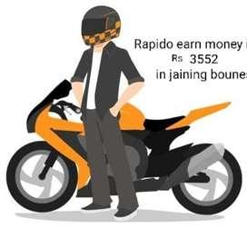 Rapido bike taxi 3000 joining boune