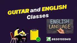 Learn Guitar and English