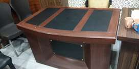 Office table. Sofa and executive chair for sale