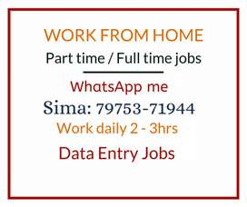 Earn Weekly 7000 with simple Data entry Work. Work 3hrs Per Day.