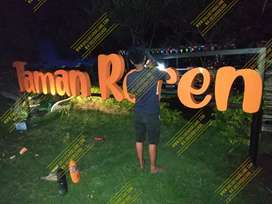 Huruf timbul,letter timbul,signed,3d letter,papan reklame,signboard,