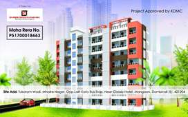 1 bhk Premium Flats in Dombivli East - Sai Siddhi Residency Call Now