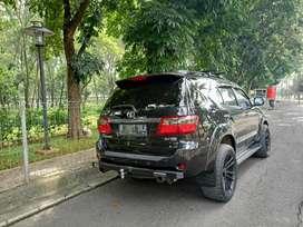 fortuner G luxury bensin 2.7 matic 2007 bisa tukar tambah