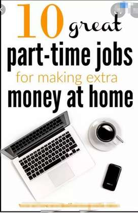 Male and female people required for typing job at home based