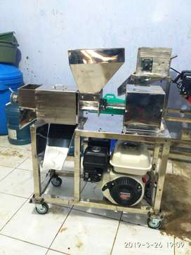 mesin peras kelapa mesin peras santan full stainless