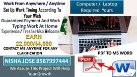 EARNING MONEY WITH OFFLINE DATA ENTRY PART TIME