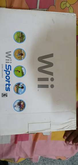 WII Sports with original box and accessories