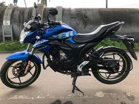 Suzuki Gixxer 2017 DEC 1st owner double disc break showroom condition