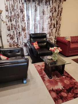 Fully Furnished big flat available for sale in patia, everything  new