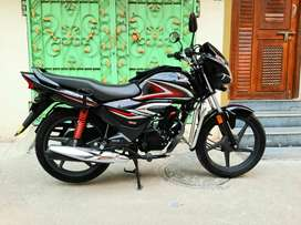 Honda shine bs6 showroom condition