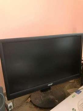 Acer 23.8 inch ultra slim black monitor