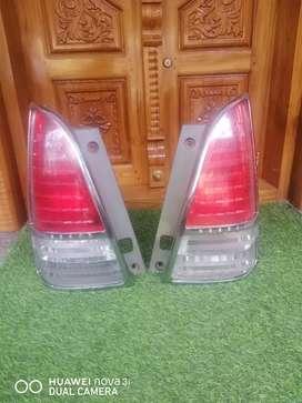 Innova old model front head lights and back lights