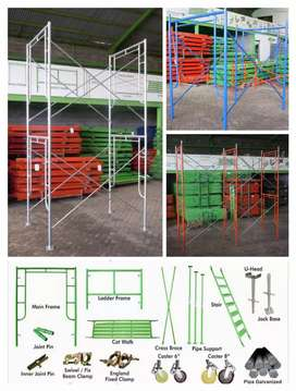Scaffolding kapolding steger andang galam bambu rental sewa jual 595