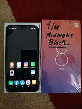 Xiaomi Mi 8 Lite 4/64 Lengkap mulus