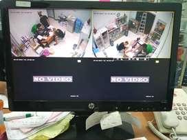 Paket 4CH CCTV dengan hasil HD Merk Dahua
