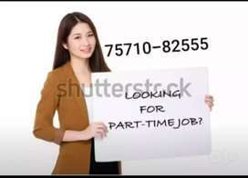 We are giving u best part time job opportunity